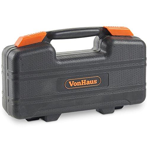 VonHaus Orange 39 Piece General Tool Set - Home Hand Tool Kit with Plastic Toolbox Storage Case by VonHaus (Image #4)
