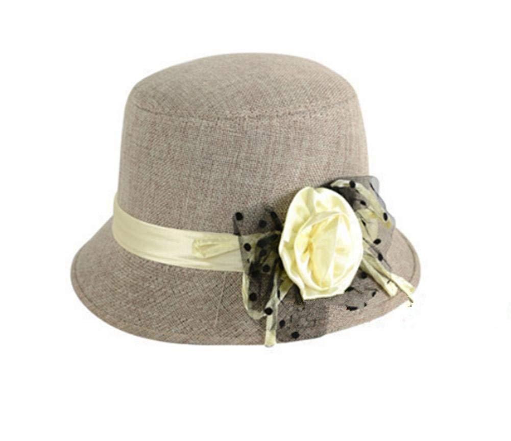Beige Ladies Hat Women's Wool Hat fashion Autumn and Winter Ski Hat Keep Warm Hat Wool Cap Casual Elegant Top Hat Wild for Women