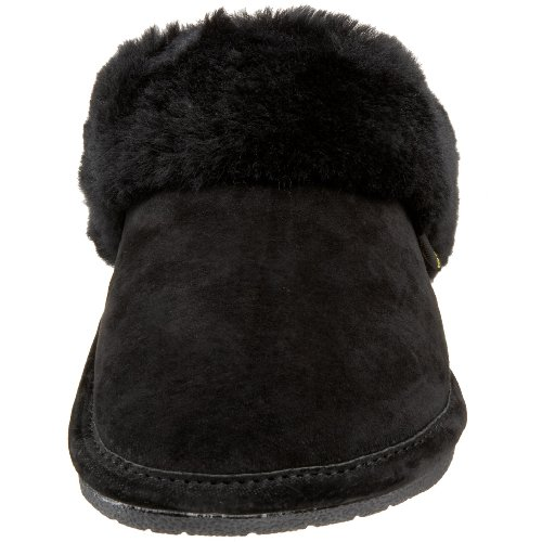 441169 Scuff Women's Black Slipper Friend Old Sheepskin EwvnTqA4T