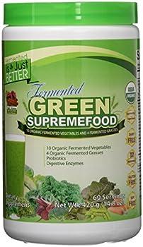 Divine Health Fermented Green Supremefood, Apple/Cinnamon