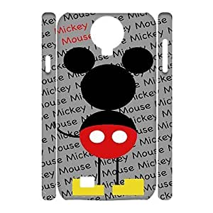 Custom Mickey Mouse I9500 3D Cover Case, Mickey Mouse Customized 3D Phone Case for Samsung Galaxy S4 I9500 at Lzzcase