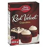 Betty Crocker Cupcake Mix Red Velvet with Cream Cheese Frosting 465 Gram