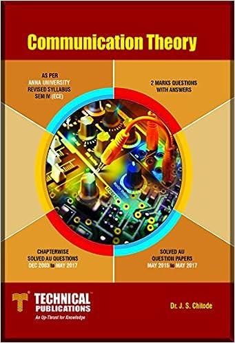Communication Theory By Bakshi Pdf