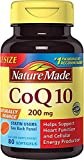CoQ10 (Coenzyme Q 10) Softgels, 80 Count Nature Made