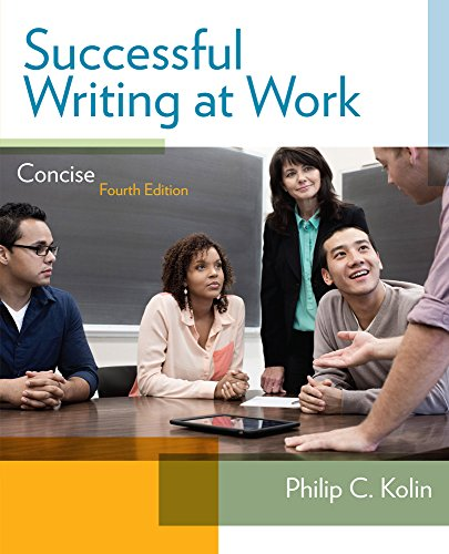 Successful Writing at Work: Concise Edition cover