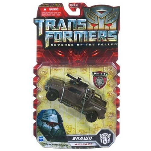 Transformers - REVENGE OF THE FALLEN -N.E.S.T.- AUTOBOT BRAWN - Auto ca. 15 cm lang - Level 3 - Hasbro B00354PQX4 Menschen Glücklicher Startpunkt | Wunderbar