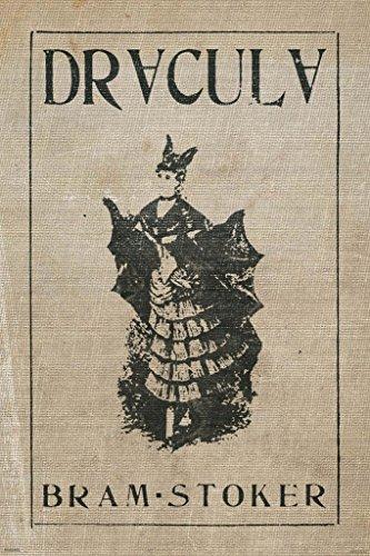 dracula bram stoker vintage print