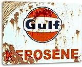 SRongmao Gulf Kerosene Gas Oil Garage Shop Retro