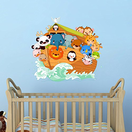 Noahs Ark Wall Decal Vinyl Home Decoration - 26