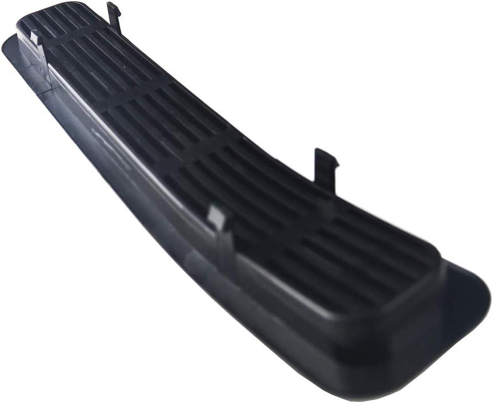 Upgrade Clip in Version Matte Black Front Grill Insert Mesh Grille Cover Trim Compatible for 1997-2006 Jeep Wrangler TJ