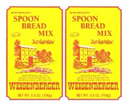 Batter Spoon Bread Weisenberger Mills Ky Proud Products  Mix 5.5 Ounce 2 Pack (Ground Bread Mix)