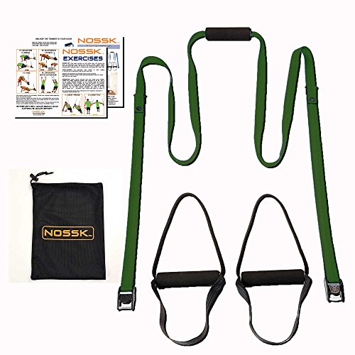 NOSSK HOME Suspension Bodyweight Fitness Trainer (olive drab)