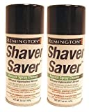 Remington SP-4 Shaver Saver Cleaner & Lubricant Spray 3.8 Ounce, 2 Cans