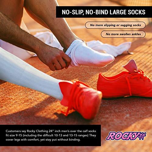 Women's Striped Tube Socks Over the Calf High Size 9-11