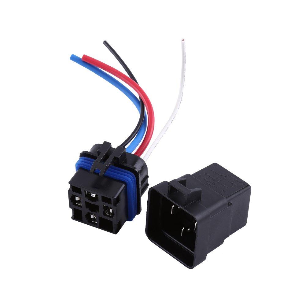 Dc Relay 12v 4 Pin Automotive 40a Waterproof 12 Volt Spdt Datasheet