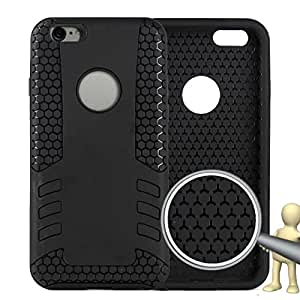 BlueFinger Rocket models TPU+PC Cell dustproof and Anti-break Phone Case for IPhone 6 (4.7) BLACK