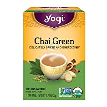 Yogi Tea Chai Green, 16-count (Pack of6)