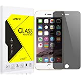 VIMVIP iPhone 7 / 7s Privacy Tempered Glass Screen Protector [Anti-Spy Case Friendly] for iPhone 7 4.7inch - Keep Your Information Private - Protect Your Screen from Scratches and Drops (Black)