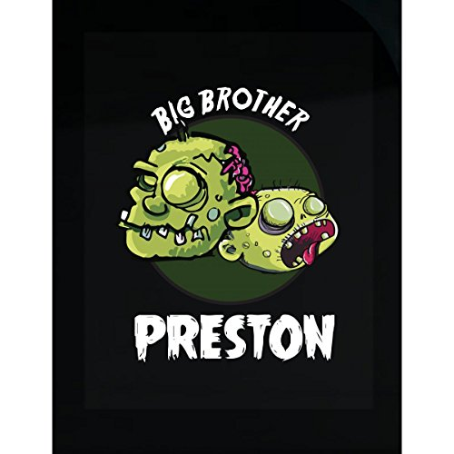 Prints Express Halloween Costume Preston Big Brother Funny Boys Personalized Gift - Sticker -
