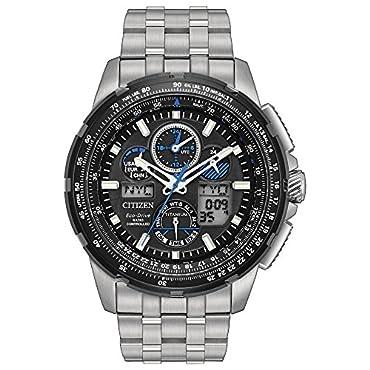55cc335f66e Citizen Eco-Drive Men s Promaster Skyhawk At Titanium Watch ...