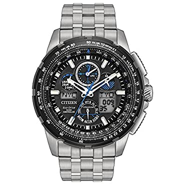 Citizen Eco-Drive Men's Promaster Skyhawk At Titanium Watch (JY8068-56E)
