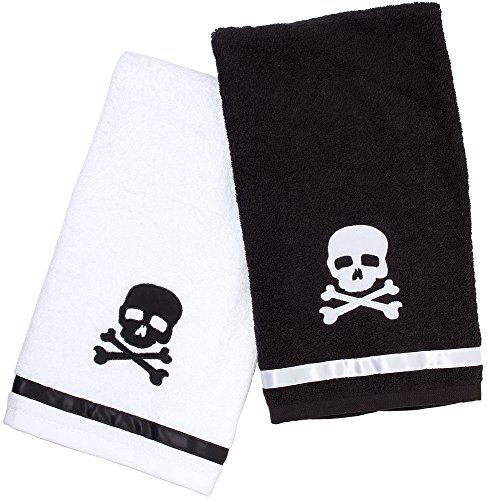 Sourpuss Skull Hand Towel Set
