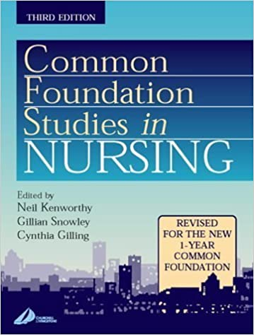 Common Foundation Studies in Nursing by Neil Kenworthy MBA BEd RGN RMN (2001-08-29)