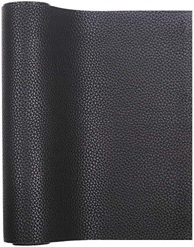 [해외]Meneng 단색 PU 합성 가죽 인조 리치 패턴 가죽 시트 23cm x 134.6cm 드레싱 재봉 공예 DIY 프로젝트에 완벽합니다. / Meneng Solid PU Synthetic Leather Faux Litchi Pattern Leather Sheet 9 x 53 Perfect for Dressing Sewing Crafting DIY Proj...