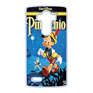 Plastic Durable Cover LG G4 Cell Phone Case White Tsljv Pinocchio Durable Phone Case