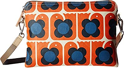 Orla Kiely Love Birds Print Travel Pouch