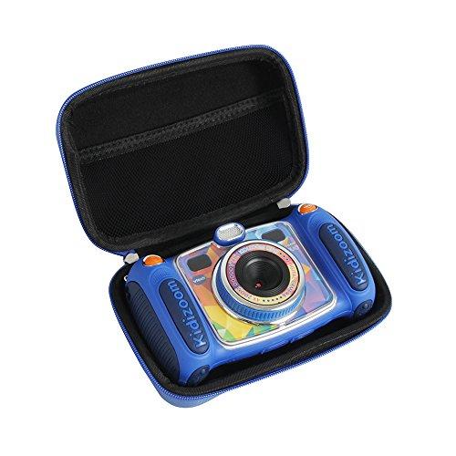Hermitshell Hard EVA Storage Case fits VTech Kidizoom Duo/Twist Selfie Camera (Blue)