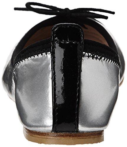 Bloch Luxury - Bailarinas para niñas Argent (Argento/Black)