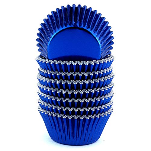 Royal Blue Cupcake Liners (Xlloest Premium Foil Paper Baking Cups, Cupcake Liners Paper - Pack of)