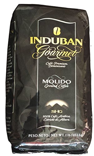 Induban Gourmet Ground Coffee Dominican Republic Premium 16 Oz