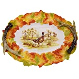 Kaldun & Bogle Home Decor Hunt Harvest Pheasant Platter