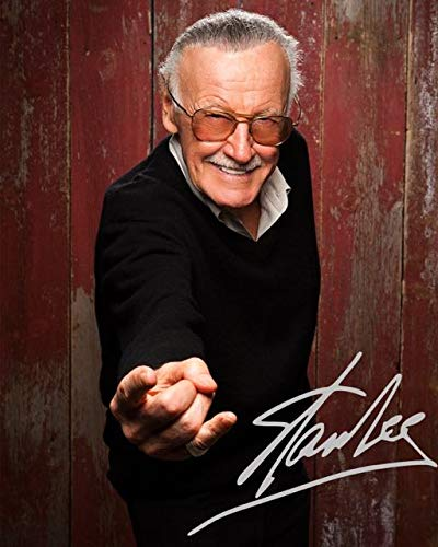 STAN LEE Reprint Signed Autographed 8x10 Photo Print RP