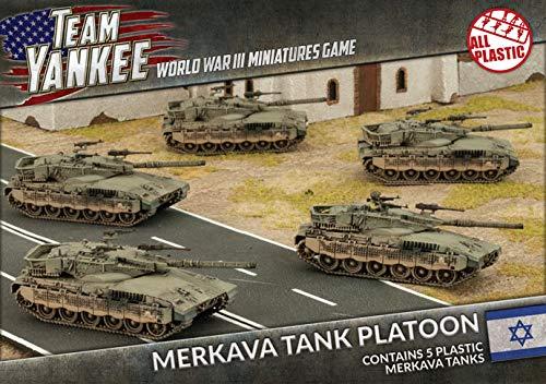 Team Yankee: Oil War: Israel: Merkava Tank Platoon (TIBX01)