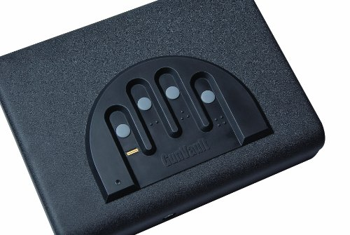 Gunvault MVB500 Microvault Biometric Pistol Gun Safe
