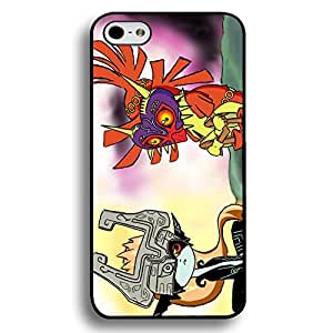 Midna and Majora's Mask Theme Black Hard Plastic Case Cover For Iphone 6 Plus/6S Plus Legend of Zelda Series