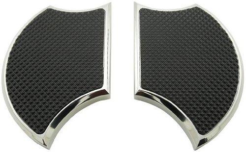 Suzuki M109r Boulevard - Billet Mini Drivers Floorboards for Suzuki BoulevardM109R, M50, Intruder M800, M1800, Volusia 800 and Yamaha Vmax 1200