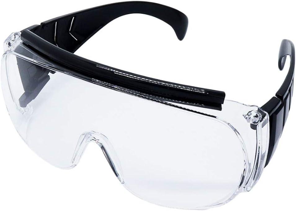 OTOS Gafas de seguridad Médico de plástico marco de los vidrios de seguridad para el uso médico - Prevención de Infecciones en cirugía o el tratamiento de los dentistas