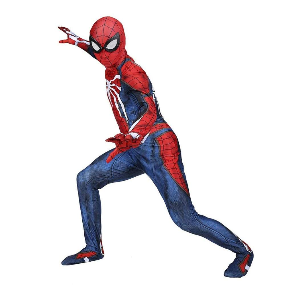 PS4 Spiderman Costume Halloween Cosplay Niños Adultos 3D Print ...