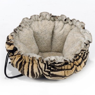 Buttercup Bowsers Bed Pet (Buttercup Nest Dog Bed Color: Safari Microvelvet)