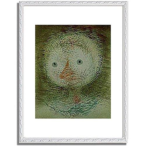 パウルクレー 「Maske dummes Madchen. 1928. 」 インテリア アート 絵画 壁掛け アートポスターフレーム:装飾(白) サイズ:S(221mm X 272mm) B00PB7GU06 1.S (221mm X 272mm)|6.フレーム:装飾(白) 6.フレーム:装飾(白) 1.S (221mm X 272mm)
