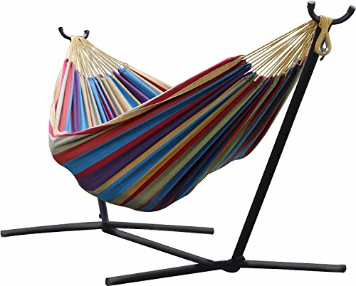Premium Hammock with Stand Combo As Chair or Bed