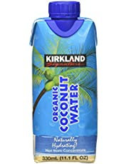 Kirkland Signature Organic Coconut Water, 11.1 Fl Oz, 12-Count, 133.2 Fluid_Ounces
