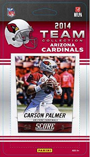 Arizona Team Cardinals Set - Arizona Cardinals 2014 Score NFL Football Factory Sealed 10 Card Team Set Including Carson Palmer, Larry Fitzgerald Plus