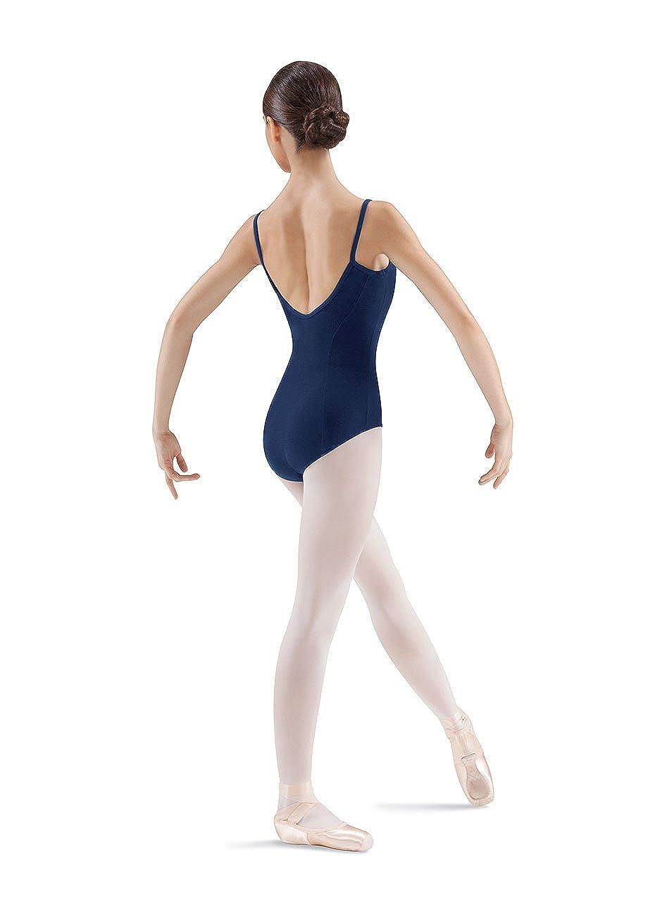 Mirella Womens Princess Seam Pinch Front Camisole Dance Leotard
