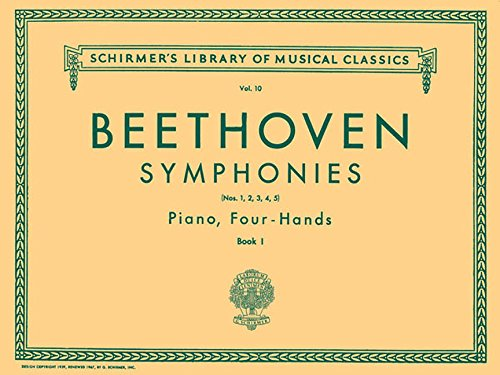 Piano Classic 10 - Symphonies - Book 1 (1-5): Schirmer Library of Classics Volume 10 Piano Duet (Schirmer's Library of Musical Classics)