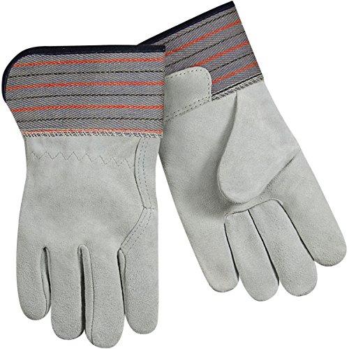 - Steiner 02299K-L Full Leather Work Gloves, Select Shoulder Split Cowhide Full Leather Back and Palm Soft Lined, Large (12-Pack)